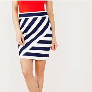 RW & Co Striped Pencil Skirt